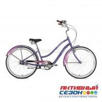 "Велосипед Stinger (26"", 3 скор) CRUISER 3SL (р-р: 16""; фиолетовый) рама алюминий"