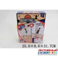 Набор для игры в баскетбол, напольная пластина 38х108см, щит 28х22см, мяч 10см, насос ZG270-31