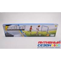 Набор для игры в футбол, ворота 79х43х50см, мяч 14см, насос LT-079A1