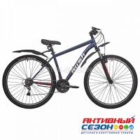 "Велосипед RUSH HOUR RX 900 V-Brake ST (29"" 18 скор) (Р-р, 17"" синий)  Рама Сталь"