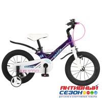 """Велосипед  детский Maxi Scoo """"Space"""" 14"""" Стандарт плюс (Фиолетовый)"""