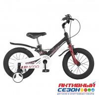 """Велосипед  детский Maxi Scoo """"Space"""" 14"""" Стандарт плюс (Черный Матовый)"""