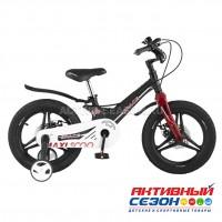 """Велосипед детский Maxi Scoo """"Space"""" 14"""" Делюкс плюс (Черный Матовый)"""