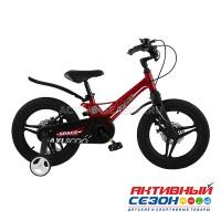 """Велосипед  детский Maxi Scoo """"Space"""" 18"""" Делюкс (Красный)"""