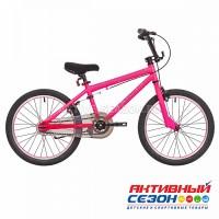 """Велосипед RUSH HOUR ROXY 20"""" (Цвет розовый) Рама Сталь, имитация BMX"""