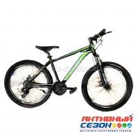 "Велосипед OZI (26"", 21 скор.) (р-р: 17; Цвет: черно-зеленый) S2602D"