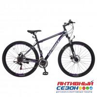 """Велосипед TechTeam Sprint (29"""", 21 скор.) (Р-р= 18"""", 21"""", Цвет: Синий, Серый, черный) Рама алюминий"""