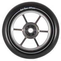 Колесо для самоката X-Treme 100мм. Форма 6RT,  черный, серый